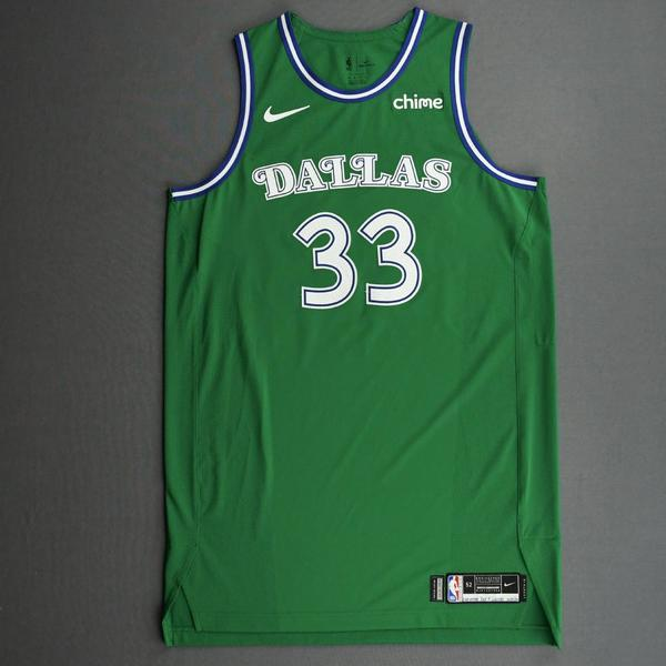 Image of Willie Cauley-Stein - Dallas Mavericks - Classic Edition (1966-67 Home Uniform) Jersey - Christmas Day '20
