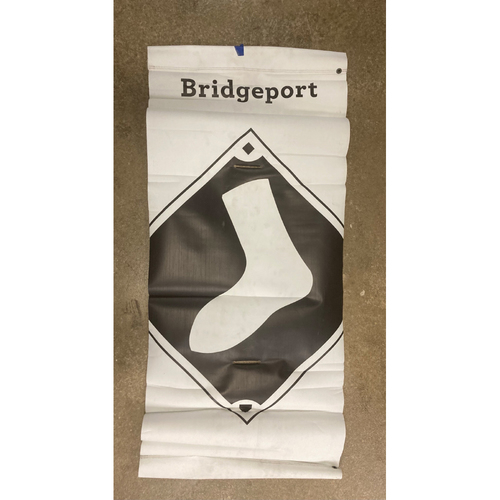 Photo of White Sox Baseball Diamond Logo Banner - NOT MLB Authenticated
