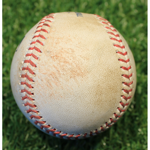 Photo of Game-Used Baseball: Kevin Kiermaier 114th Career Double (TB @ KC 4/20/21)