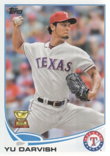 Photo of 2013 Topps #11A Yu Darvish