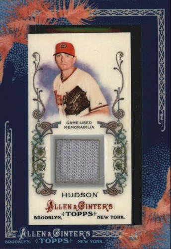 Photo of 2011 Topps Allen and Ginter Relics #DH Daniel Hudson