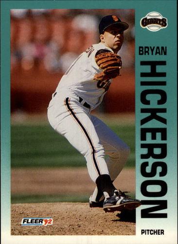 Photo of 1992 Fleer #638 Bryan Hickerson RC
