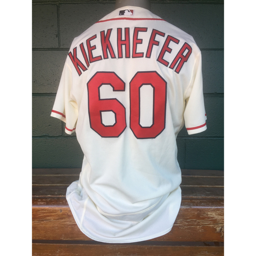 Cardinals Authentics: Dean Kiekhefer Saturday Ivory Alternate Jersey