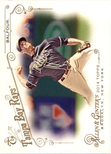 Photo of 2014 Topps Allen and Ginter #135 Grant Balfour