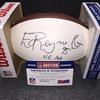 PCF - Patriots Ed Reynolds signed panel ball