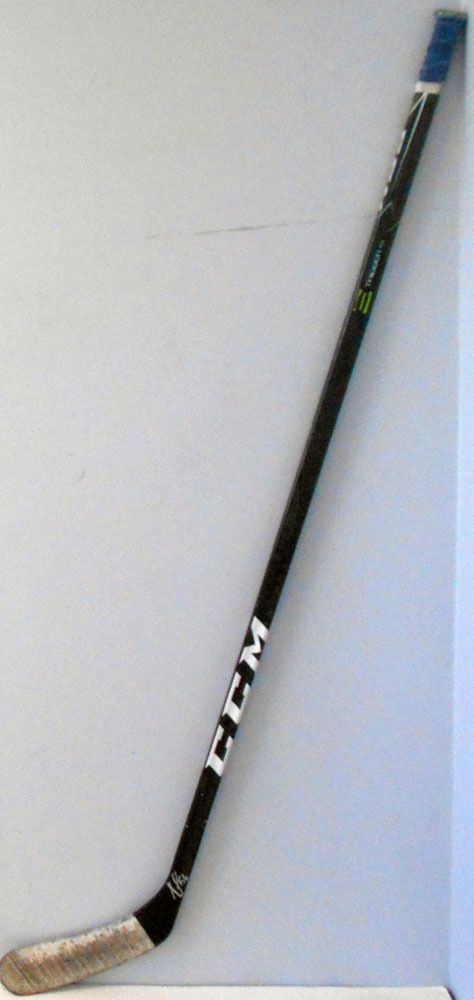 #56 Tanner Fritz Game Used Stick - Autographed - New York Islanders