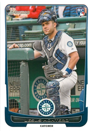 Photo of 2012 Bowman Draft #30 Jesus Montero RC