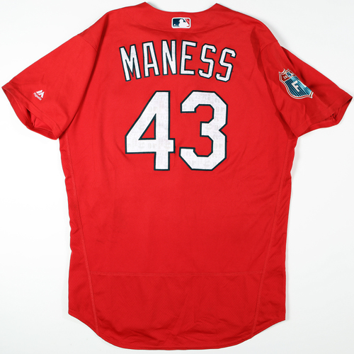 Photo of 2016  Spring Training -  Game-Used Jersey - Seth Maness (Cardinals) - Size 46