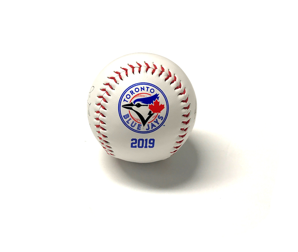 Toronto Blue Jays 2019 Printed Team Autograph Ball