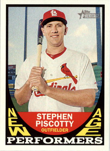 Photo of 2016 Topps Heritage New Age Performers #NAPSP Stephen Piscotty