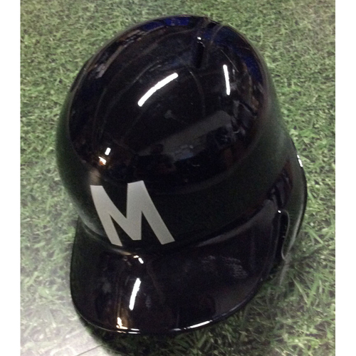Photo of Jesus Aguilar 2018 Game-Used Milwaukee Bears Batting Helmet