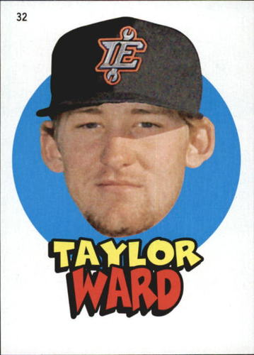 Photo of 2016 Topps Heritage Minors '67 Topps Stickers #32 Taylor Ward