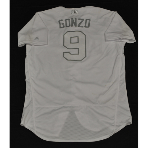 "Photo of Marwin ""Gonzo"" Gonzalez Minnesota Twins Game-Used 2019 Players' Weekend Jersey"