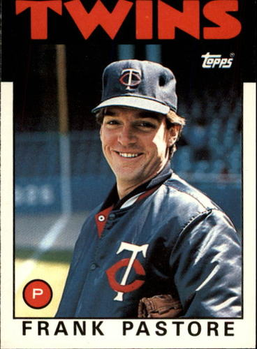 Photo of 1986 Topps Traded #85T Frank Pastore