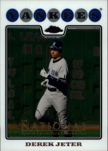 Photo of 2008 Topps Chrome #121 Derek Jeter