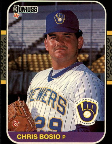 Photo of 1987 Donruss #478 Chris Bosio RC