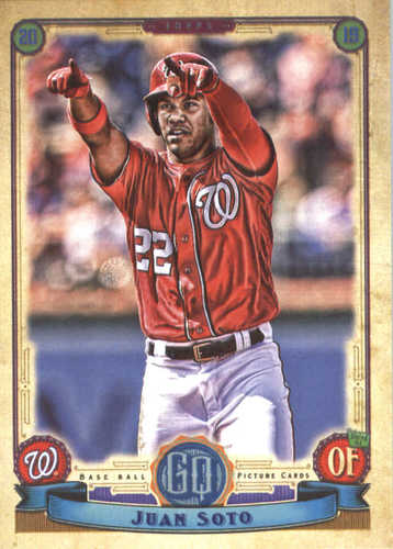 Photo of 2019 Topps Gypsy Queen #57 Juan Soto