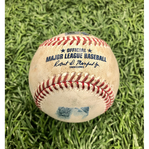 Photo of Game Used Baseball: Kevin Kiermaier foul ball off Tyler Glasnow - Intrasquad Game - July 21, 2020
