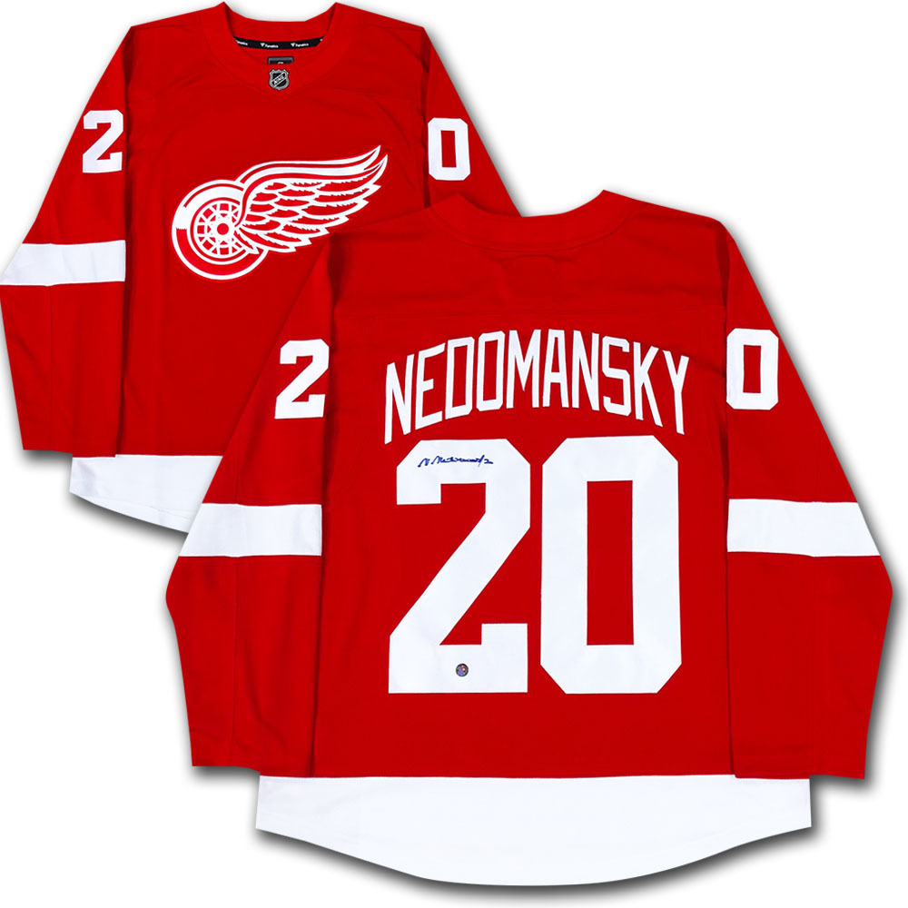 Vaclav Nedomansky Autographed Detroit Red Wings Jersey