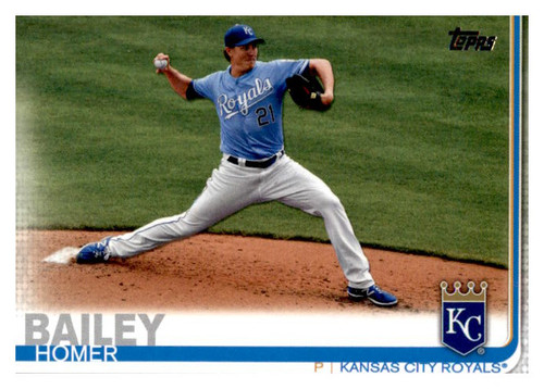 Photo of 2019 Topps Update #US270 Homer Bailey