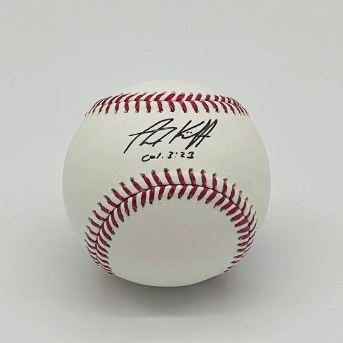 Photo of Minnesota Twins Autographed Baseball - Alex Kirilloff