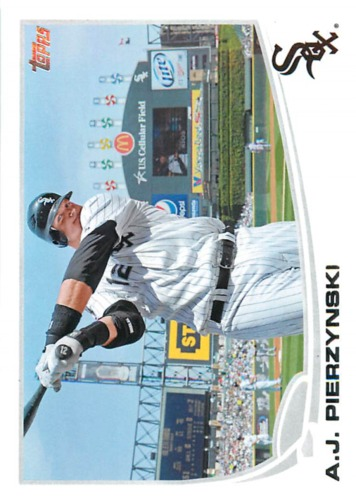 Photo of 2013 Topps #12 A.J. Pierzynski