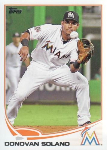 Photo of 2013 Topps #543 Donovan Solano