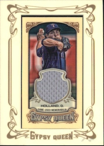 Photo of 2014 Topps Gypsy Queen Framed Mini Relics #GMRDG Dillon Gee