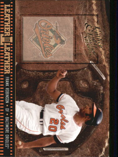 Photo of 2004 Leather and Lumber Leather in Leather #33 Frank Robinson SH
