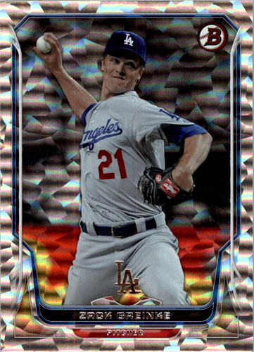 Photo of 2014 Bowman Silver Ice #163 Zack Greinke