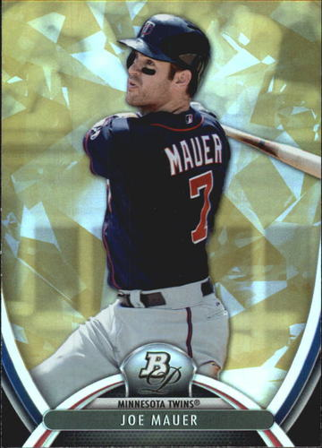 Photo of 2013 Bowman Platinum Gold #77 Joe Mauer