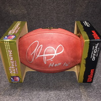PCF - RAMS ORLANDO PACE SIGNED AUTHENTIC FOOTBALL