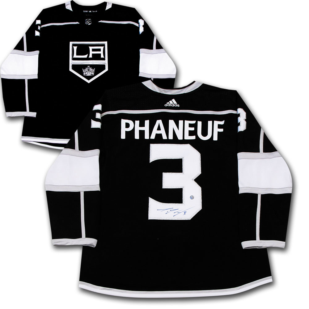 Dion Phaneuf Autographed Los Angeles Kings adidas Pro Jersey