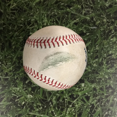 Player-Collected Baseball WSH@MIL  07/25/18 - Juan Soto Career Homerun #11 Baseball