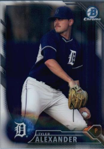 Photo of 2016 Bowman Chrome Prospects #BCP235 Tyler Alexander