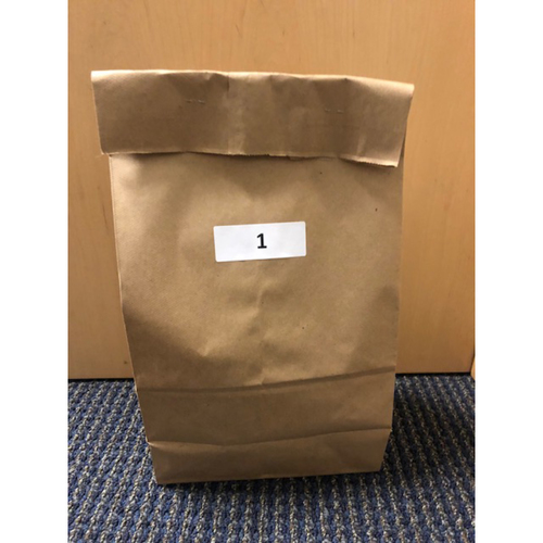 Photo of Los Angeles Dodgers Foundation: Game-Used Jersey - 2018 NLCS Game 5 Mystery Bag-Fundraiser Bag-1