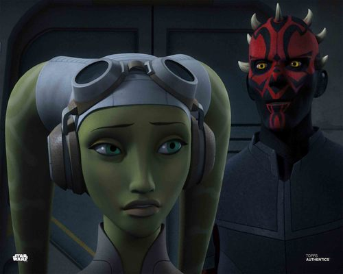 Hera Syndulla and Maul