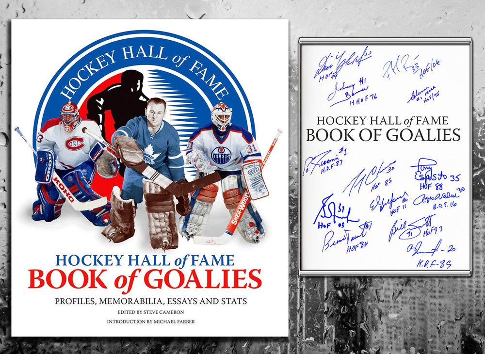 Hockey Hall Of Fame BOOK OF GOALIES Signed By 13 Hardcover Book