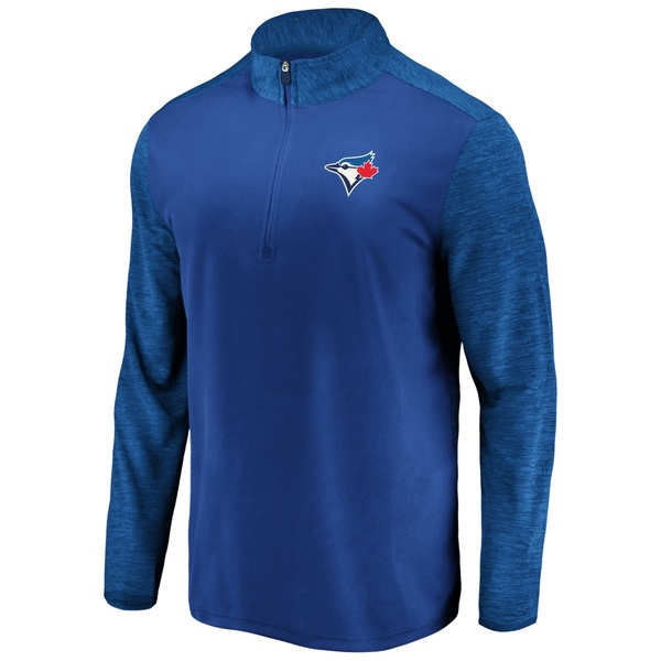 Toronto Blue Jays Practice Makes Perfect 1/4 Zip Jacket by Fanatics