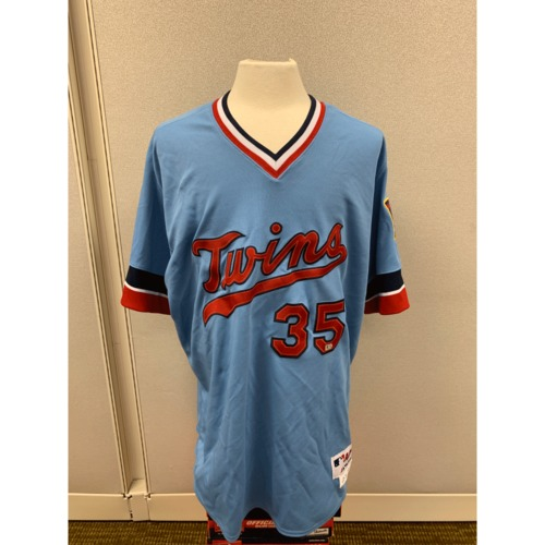 Photo of Minnesota Twins - Ron Gardenhire Team Issued 1984 Throwback Jersey