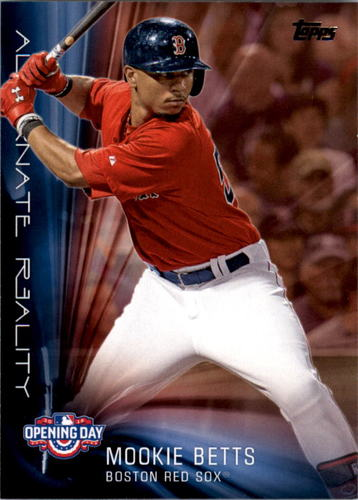 Photo of 2016 Topps Opening Day Alternate Reality #AR2 Mookie Betts