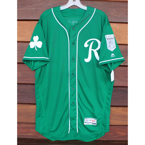 Photo of Team-Issued St. Patrick's Day Jersey: Nathan Esposito (Size - 46)