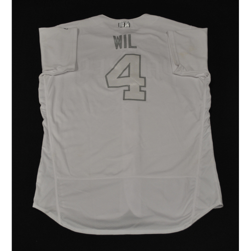 "Photo of Wil ""WIL"" Myers San Diego Padres Game-Used 2019 Players' Weekend Jersey"