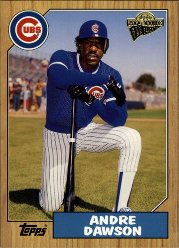 Photo of 2003 Topps All-Time Fan Favorites #89 Andre Dawson