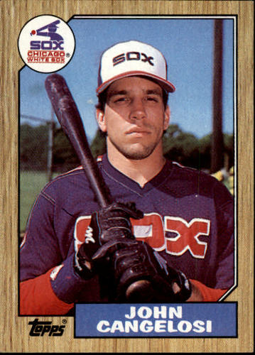 Photo of 1987 Topps #201 John Cangelosi
