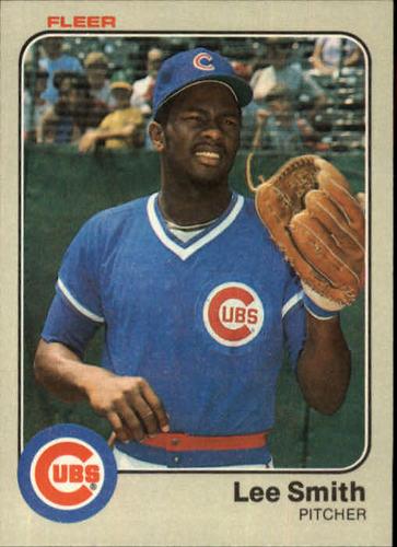 Photo of 1983 Fleer #508 Lee Smith