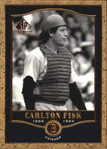Photo of 2001 SP Legendary Cuts #63 Carlton Fisk