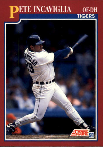 Photo of 1991 Score Rookie/Traded #3T Pete Incaviglia
