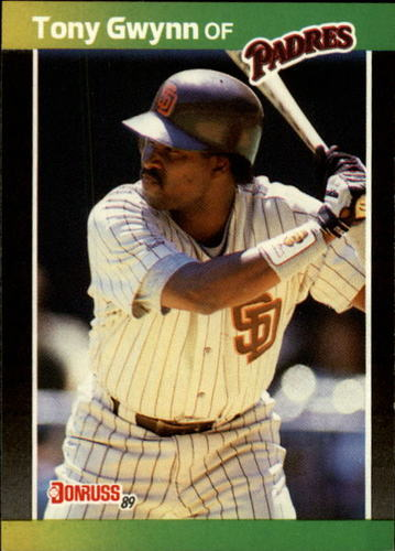 Photo of 1989 Donruss #128 Tony Gwynn