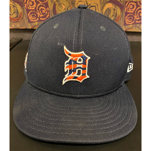 Photo of Team-Issued 2020 Spring Training Detroit Tigers Cap #87 (Tarik Skubal's Spring Training Jersey #) (MLB AUTHENTICATED)